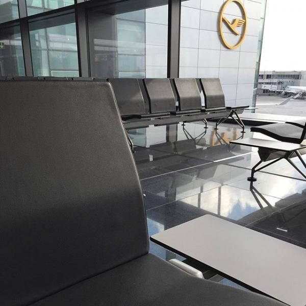 Frankfurt Airport | 法兰克福机场候机椅